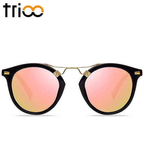 Mirror Round Ladies Sunglasses