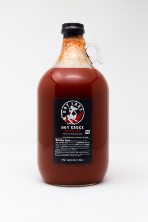HOT LADY® Hot Sauce Jug - HOT LADY CO