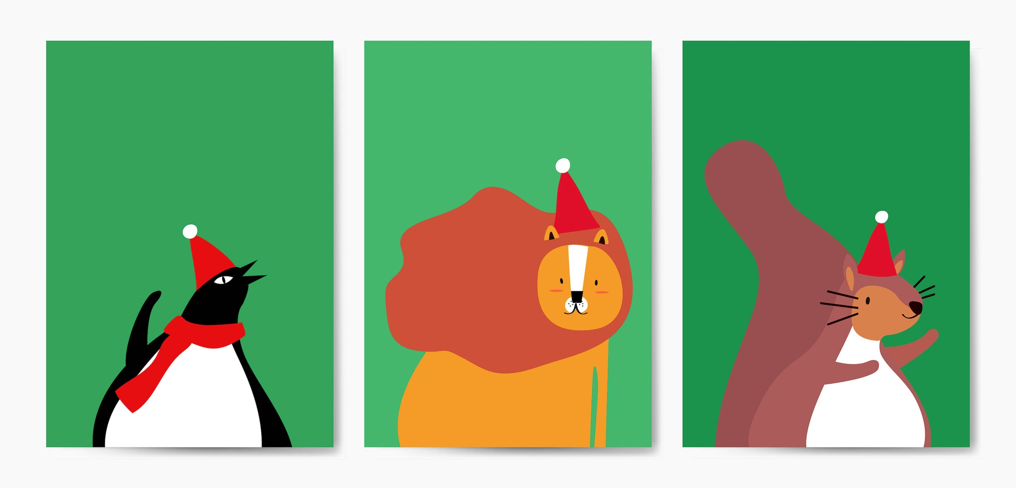 Holiday Cartoon Animals to Lighten Up Your Blog