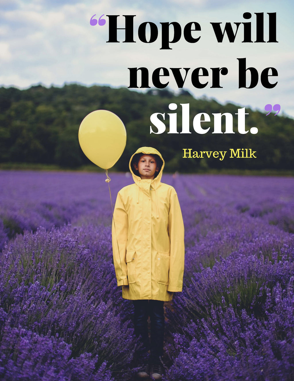 Hope Will Never Be Silent poster