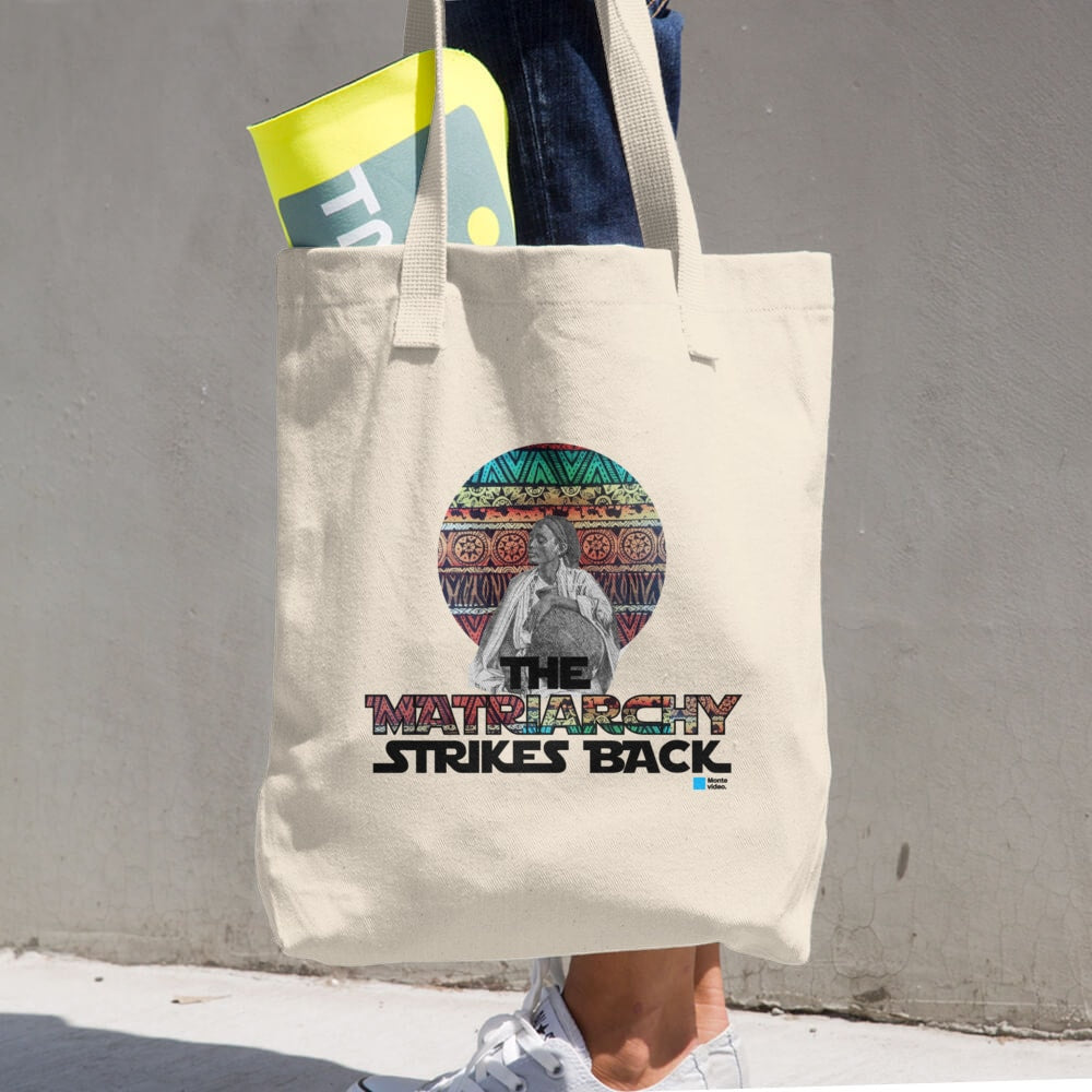 The Matriarchy Strikes Back Cotton Tote Bag