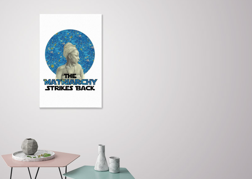 The Matriarchy Strikes Back canvas print