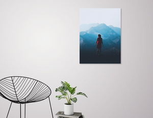 Face the Future canvas print