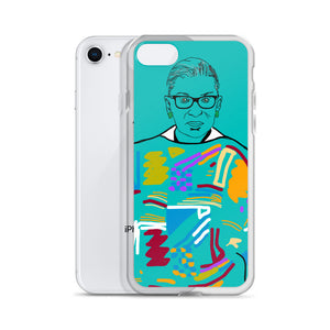 Ruth Bader Ginsburg iPhone Case