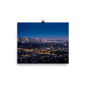 Los Angeles By Night poster