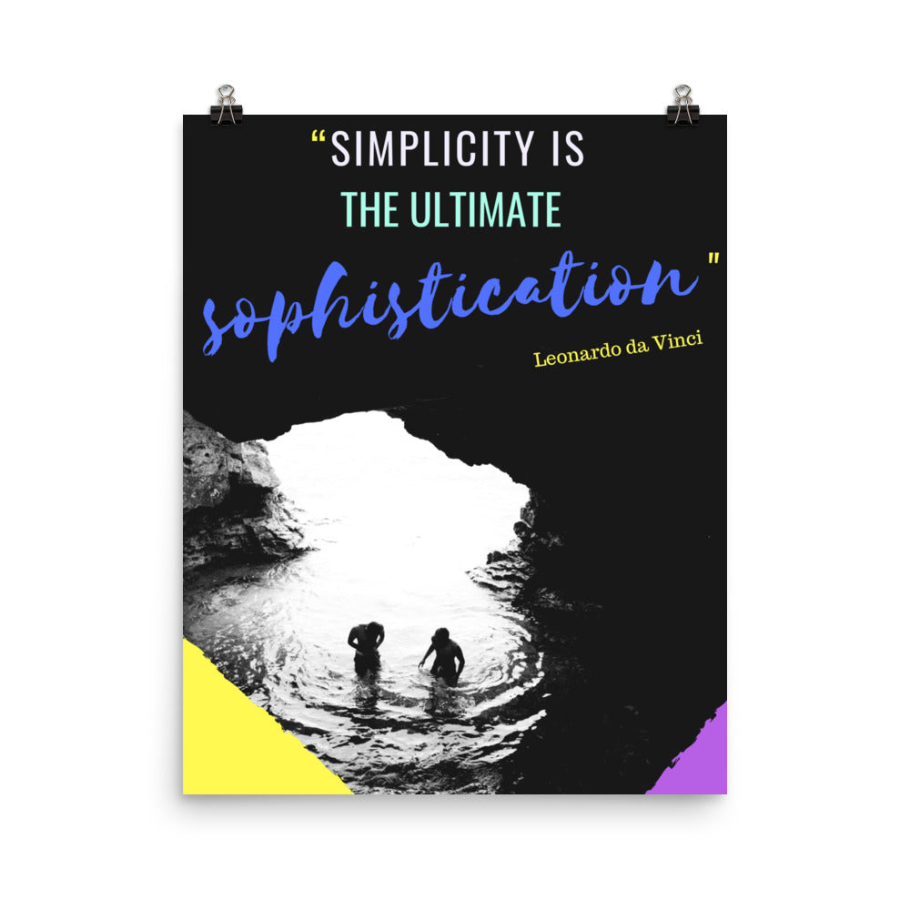 Simplicity is Sophistication poster