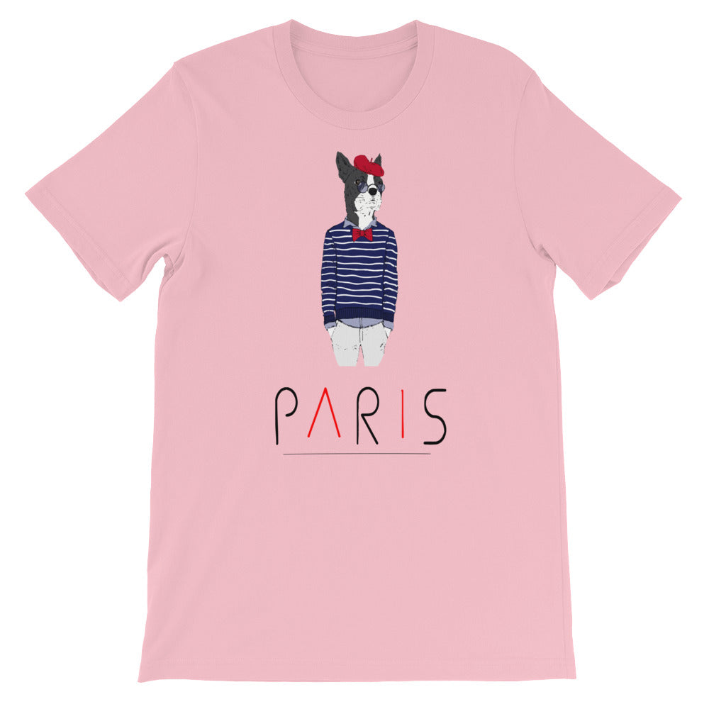 Many Cities, One World Paris Men's T-shirt