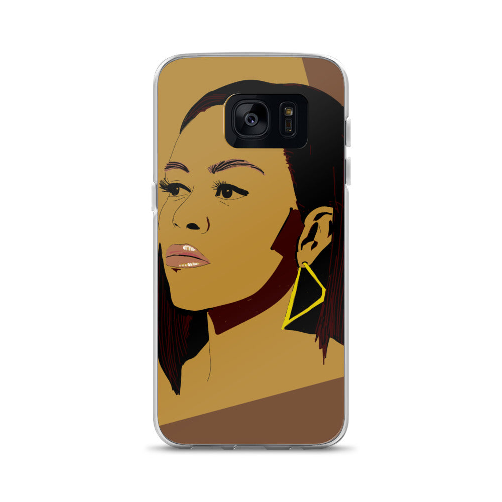 Michelle Obama Samsung Case