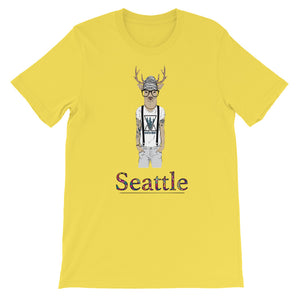 Many Cities, One World Seattle Women's T-Shirt