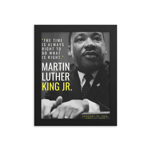 Martin Luther King Jr. framed print