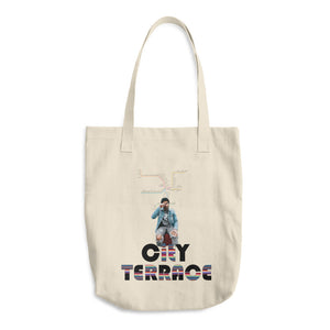 City Terrace Cotton Tote Bag