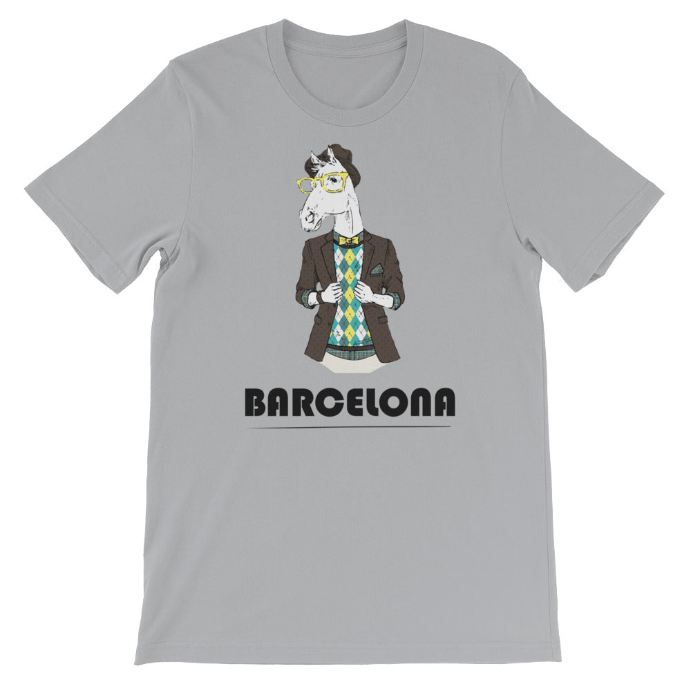 Many Cities, One World Barcelona Men's T-Shirt
