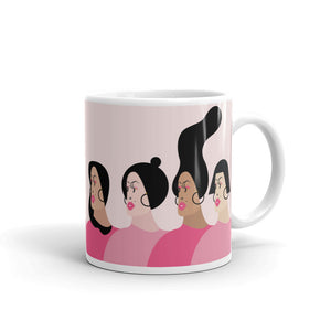 Fierce Women coffee mug