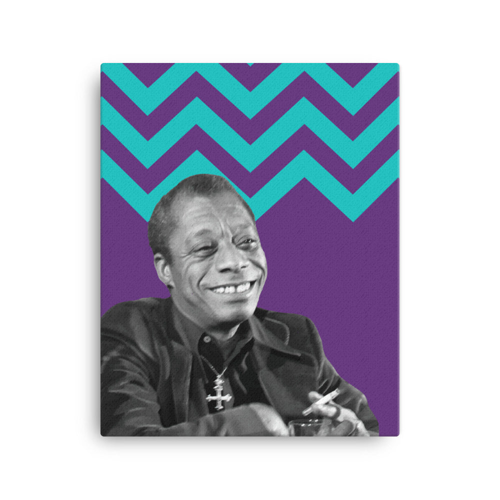 James Baldwin canvas print