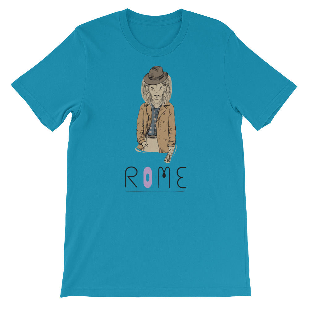 Many Cities, One World Rome Men's T-Shirt