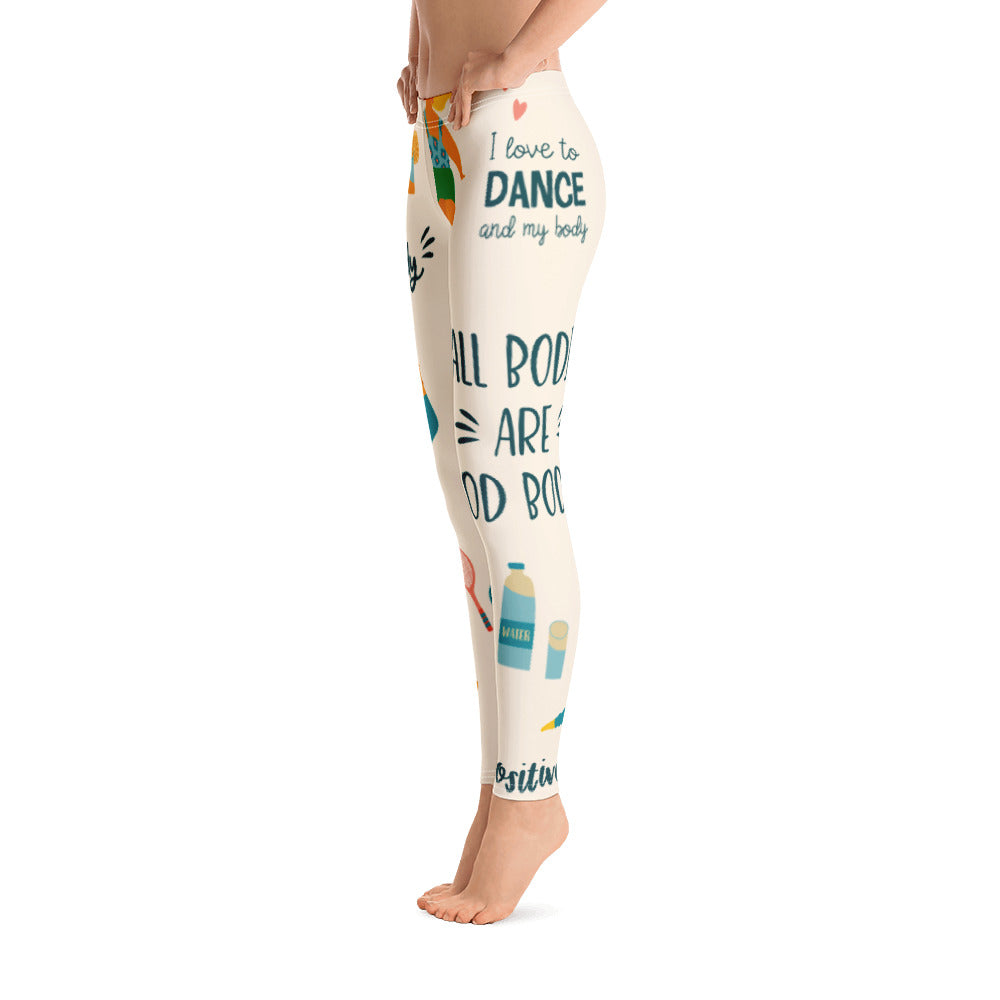 All Bodies Are Good Bodies leggings