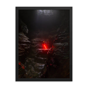 Find the Force framed print