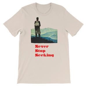 Never Stop Seeking Women's T-Shirt