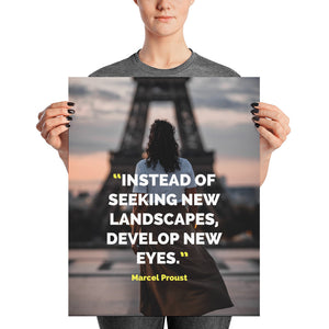 Develop New Eyes poster