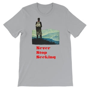 Never Stop Seeking Men's T-Shirt