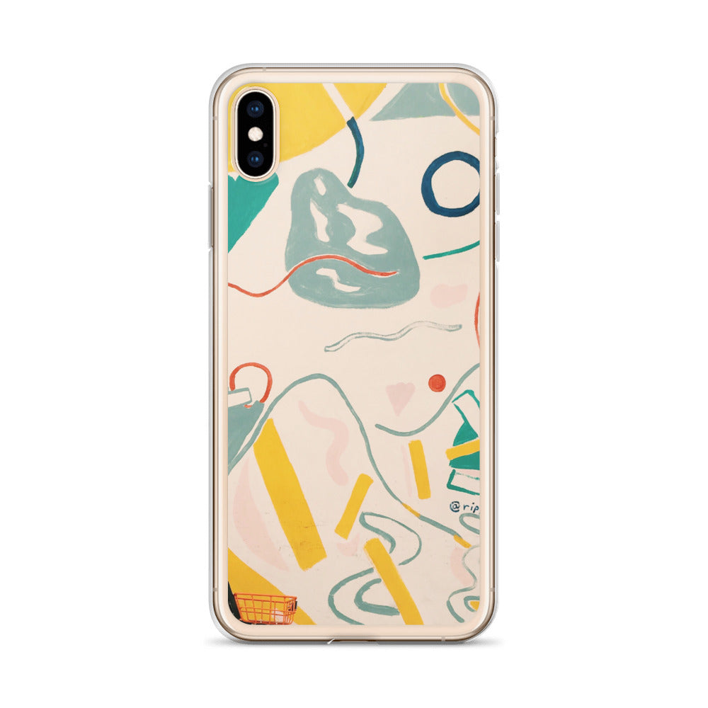 Shapes Study #1 iPhone Case