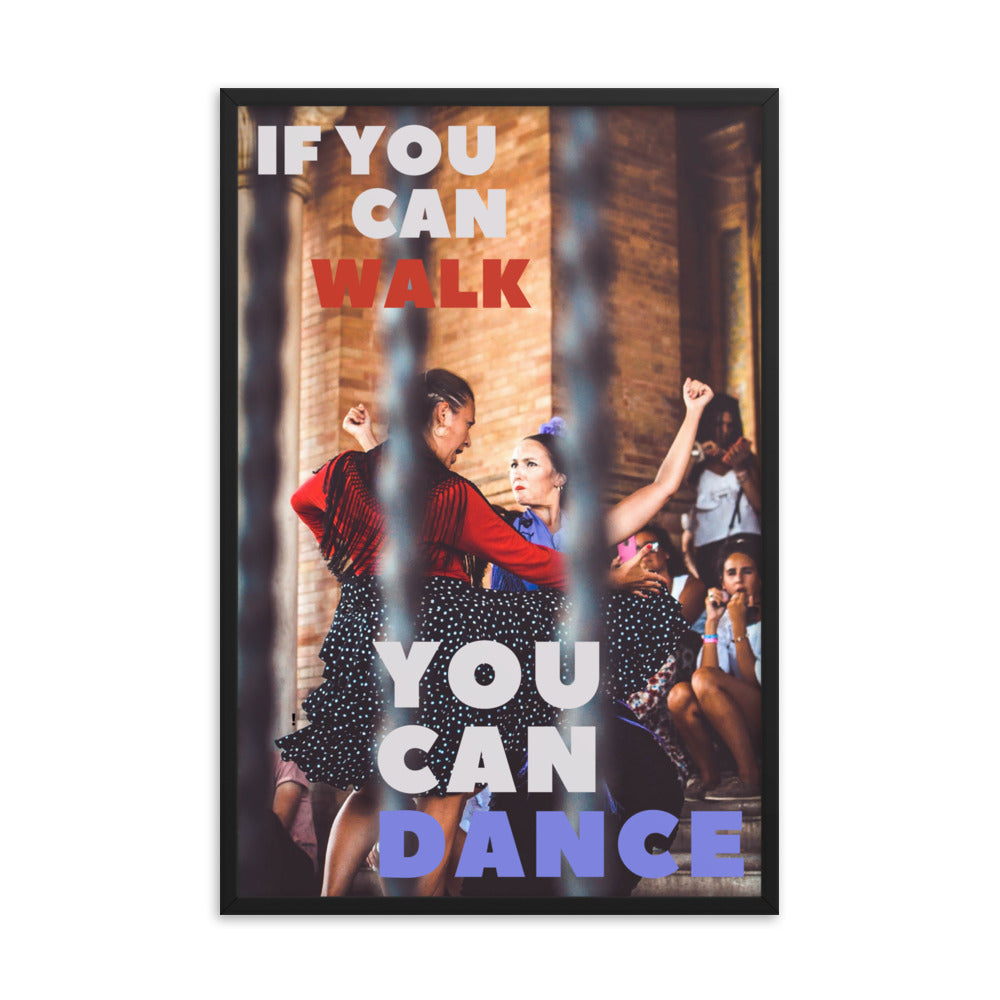You Can Dance framed print
