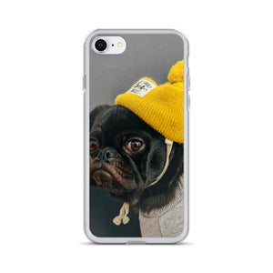 My Human Dresses Me iPhone Case