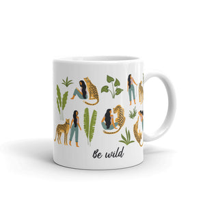 Be Wild coffee mug