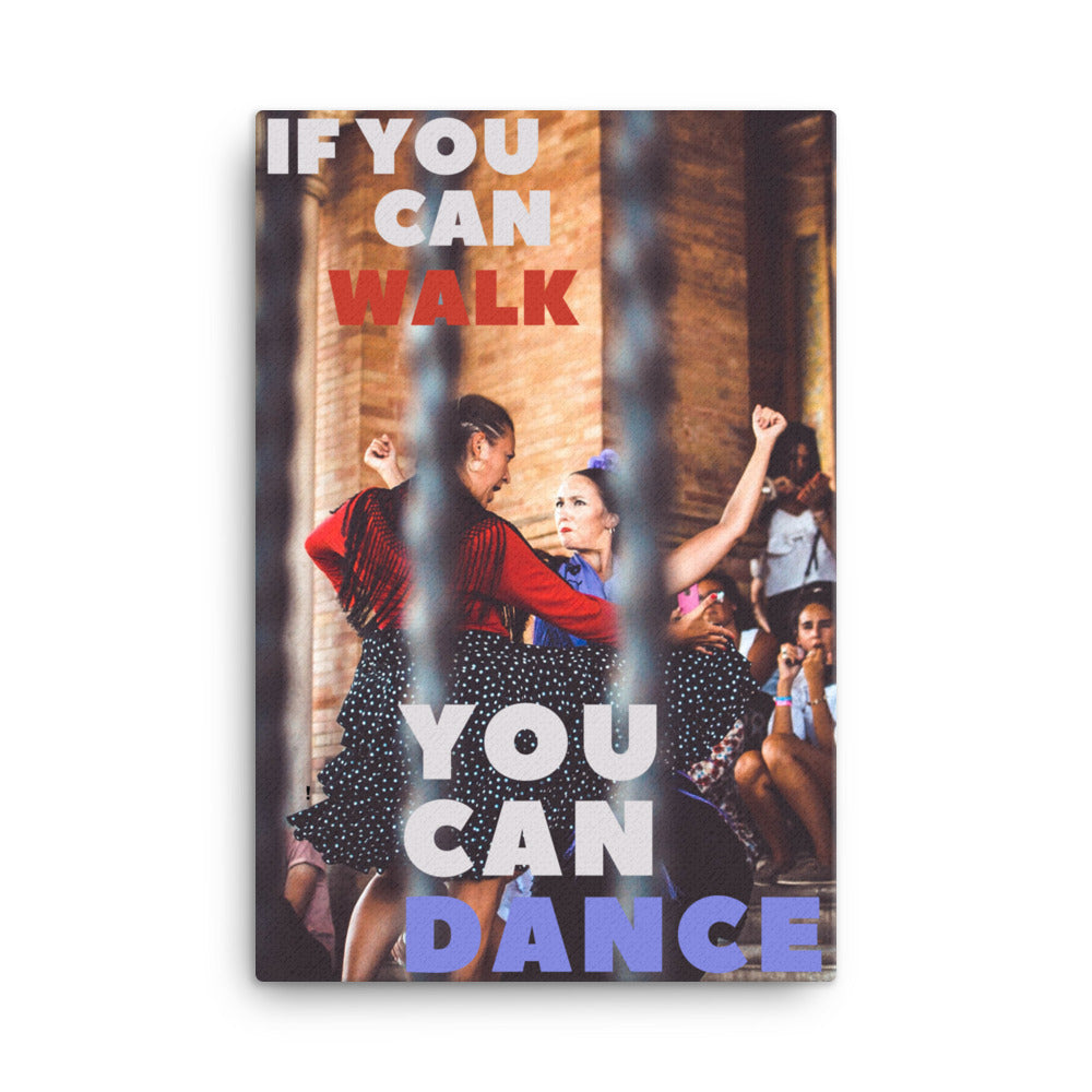 You Can Dance canvas print