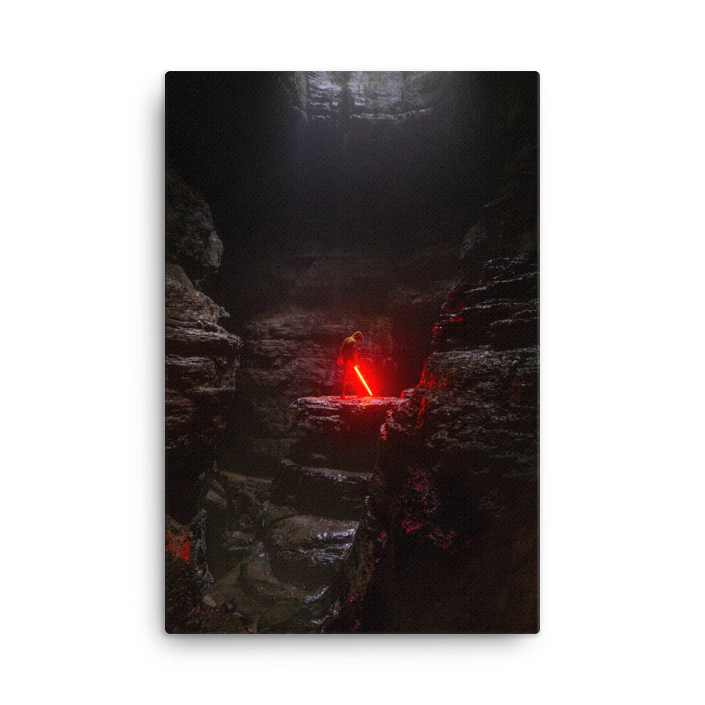 Find the Force canvas print