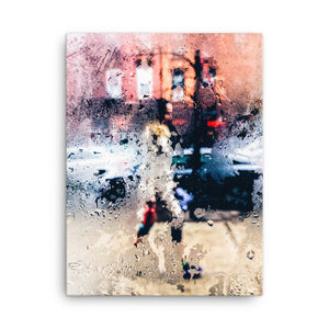 Wet Glass canvas print