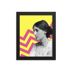 Virginia Woolf framed print