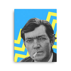 Julio Cortázar canvas print