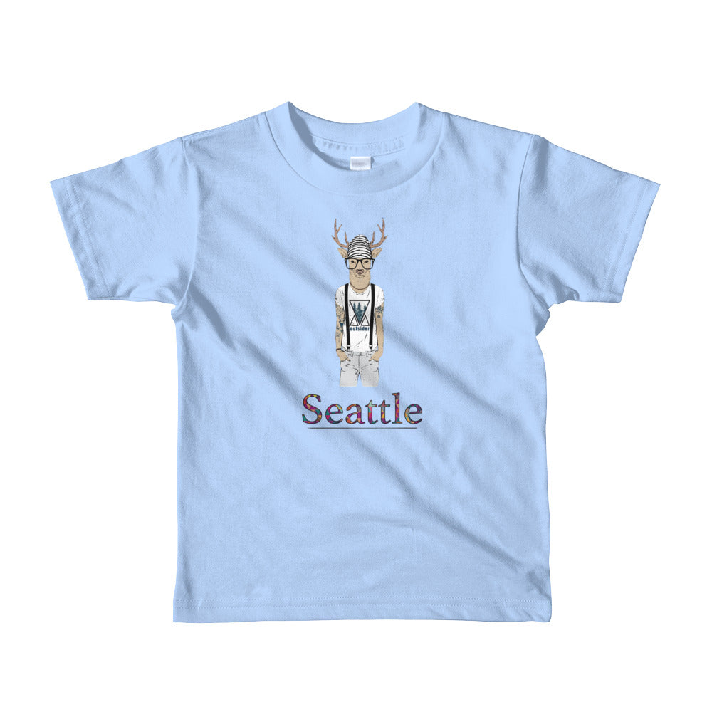 Many Cities, One World Short sleeve kids t-shirt (ninth in a series)
