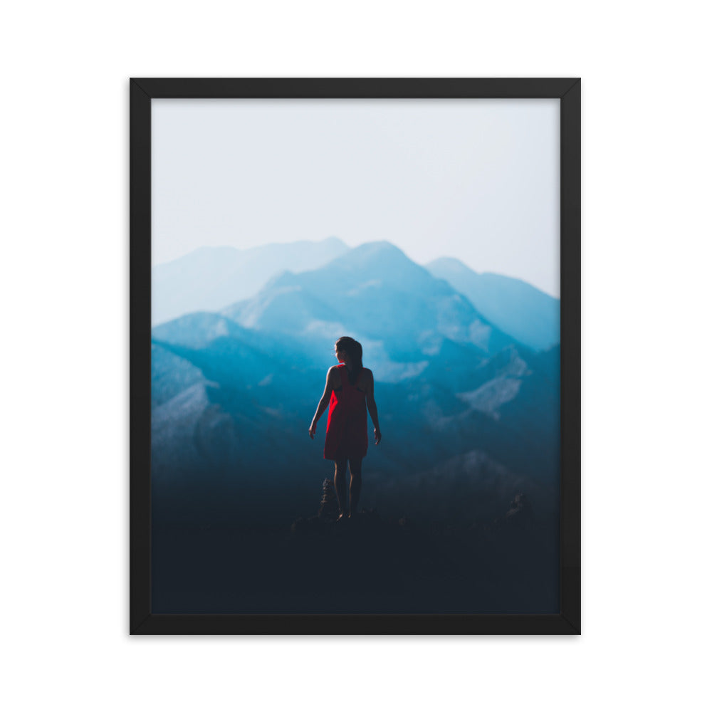 Face the Future framed print