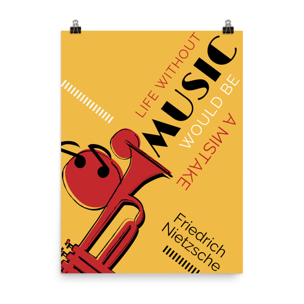 Life Without Music Would Be a Mistake poster