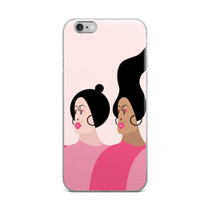 Fierce Women iPhone Case