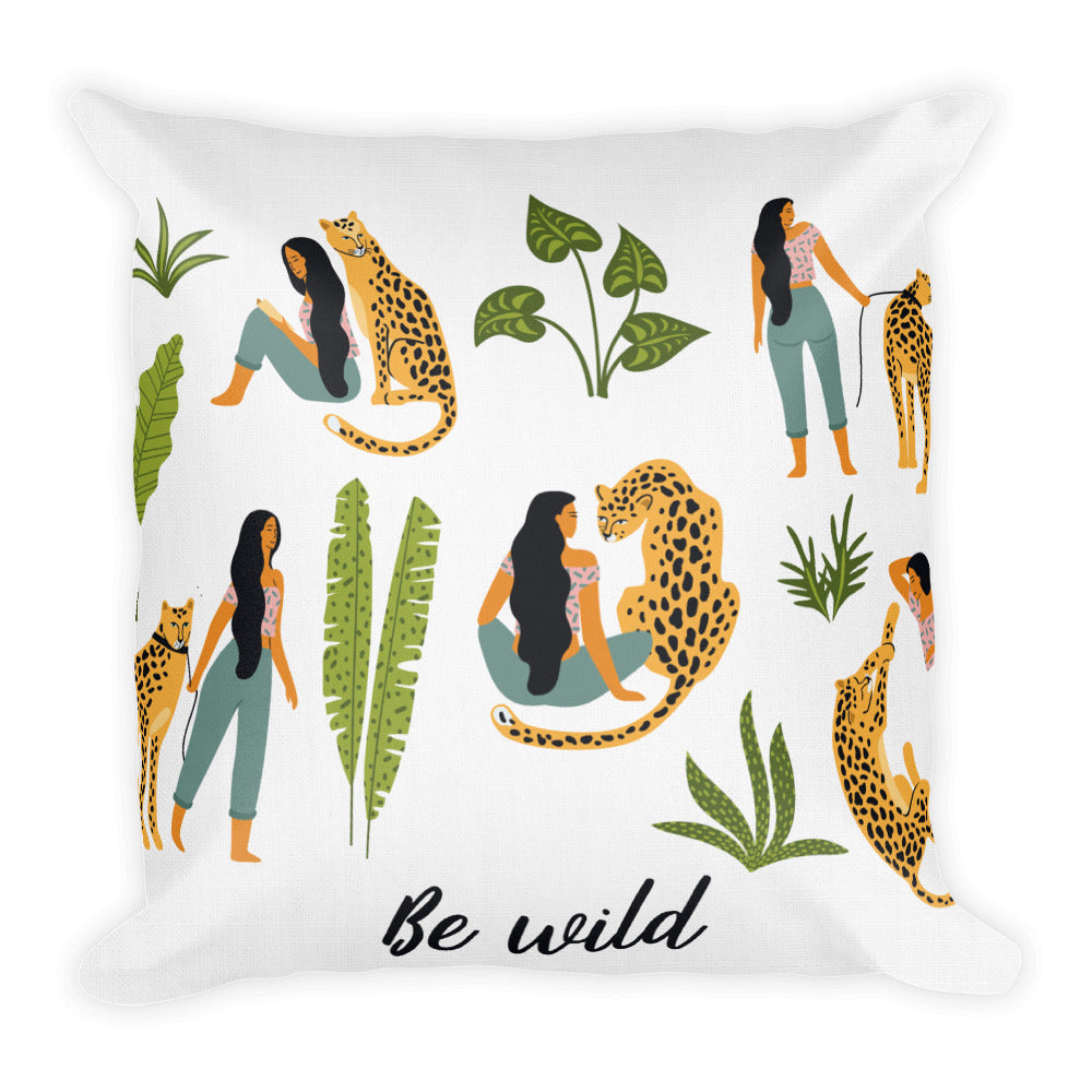Be Wild premium pillow