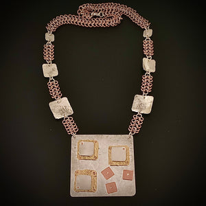 Full of Squares Necklace