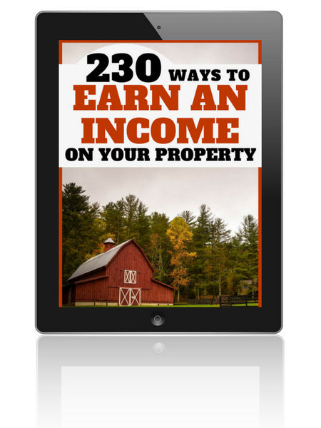 Make a Full-Time Income From Your Farm--230 Ideas to Make Money