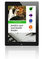 Poultry Health and Care Binder