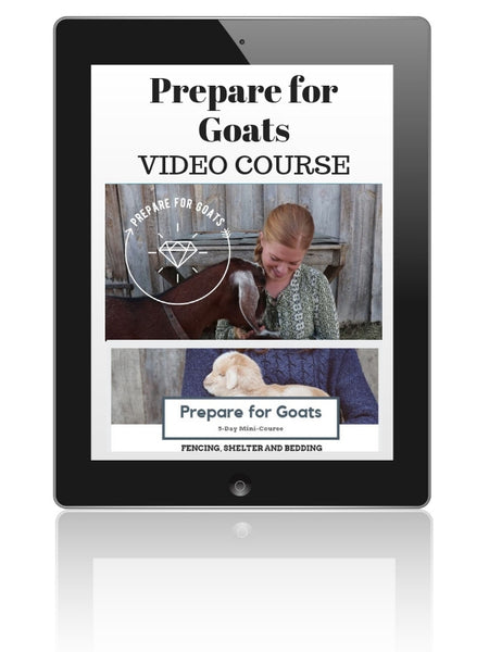 Prepare for Goats 5-Day Mini-Course