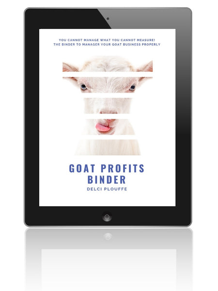 A Goat Binder to Manage Your Goat Business Properly