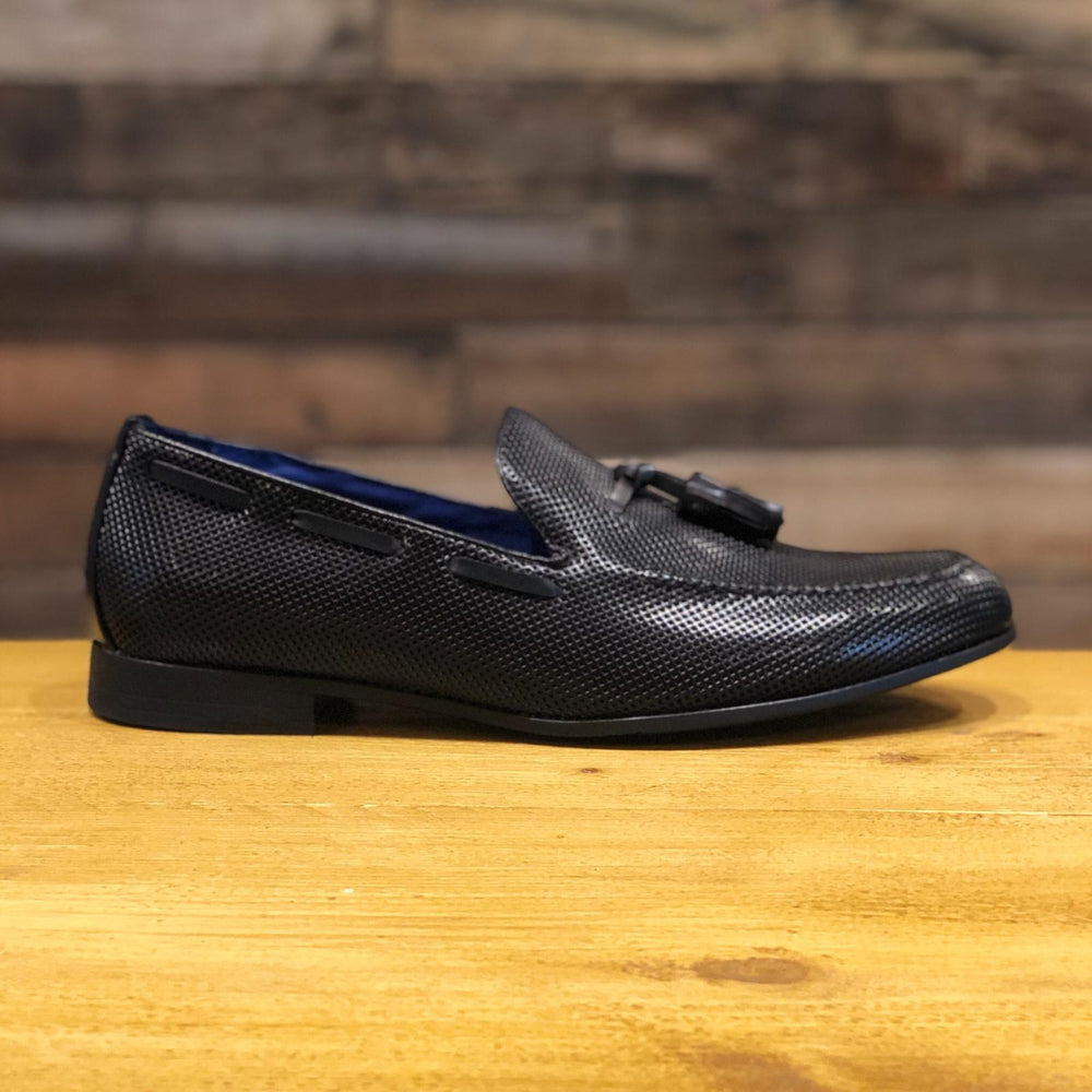 Black Tassled Loafer