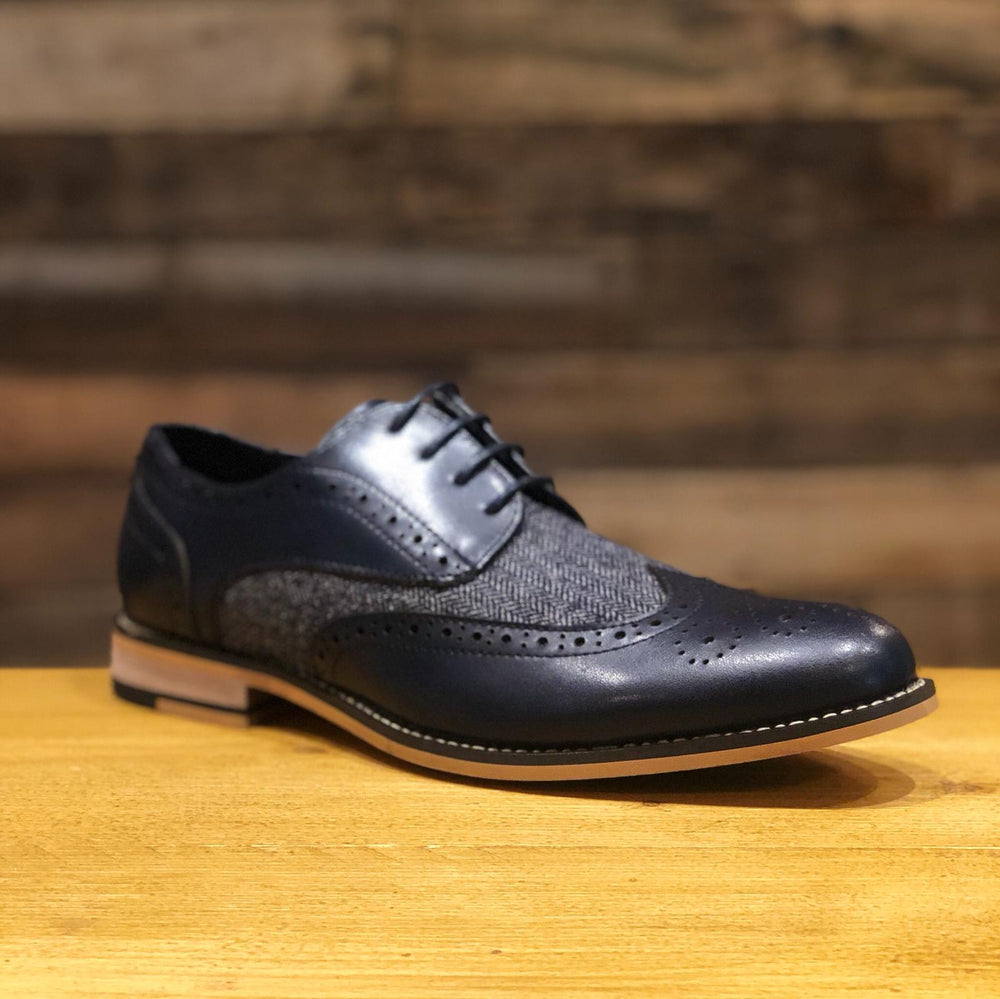 Navy Brogue