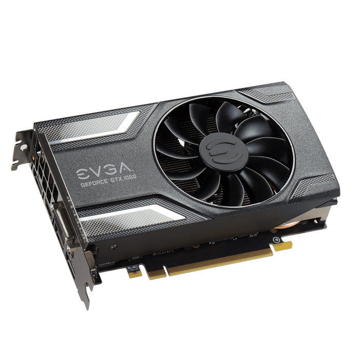 EVGA GeForce GTX 1060 SC GAMING, 06G-P4-6163-KR, 6GB GDDR5, ACX 2.0 (Single Fan) - V&L Canada
