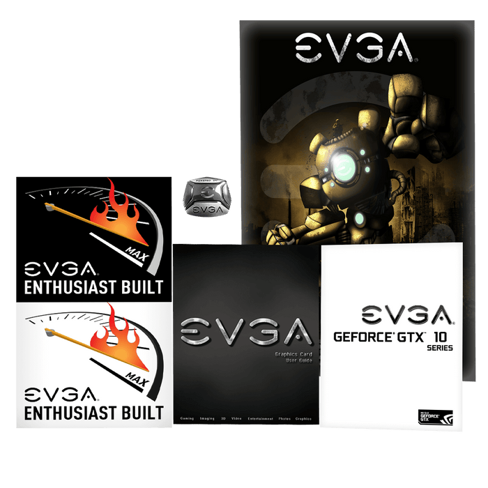 EVGA GeForce GTX 1070 Ti SC GAMING, 08G-P4-5671-KR, 8GB GDDR5, ACX 3.0 & Black Edition - V&L Canada