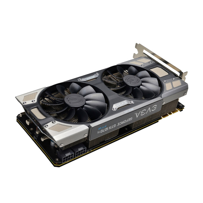 EVGA GeForce GTX 1070 Ti FTW ULTRA SILENT GAMING, 08G-P4-6678-KR, 8GB GDDR5, ACX 3.0 Video Card