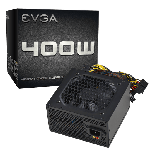EVGA 400 N1, 400W, 2 Year Warranty, Power Supply 100-N1-0400-L1 - V&L Canada