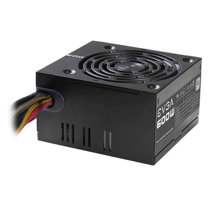 EVGA 600 W1, 80+ WHITE 600W, 3 Year Warranty, Power Supply 100-W1-0600-KR - V&L Canada